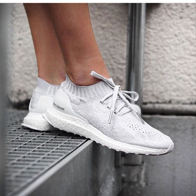 dc981fb9d83ee Adidas Ultraboost Uncaged Triple White