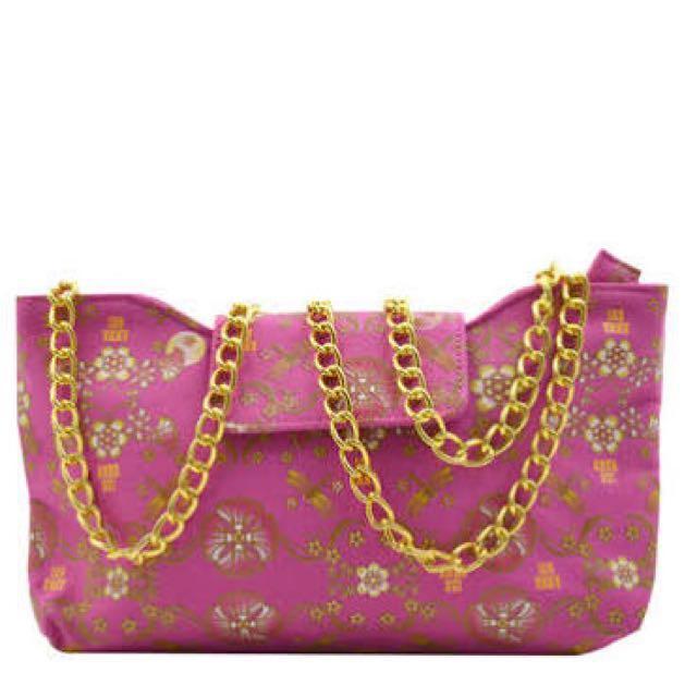 Anna sui romantica evening bag