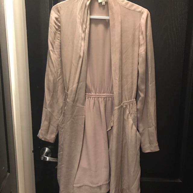 Aritzia Silk Cardigan/Dress Size XS