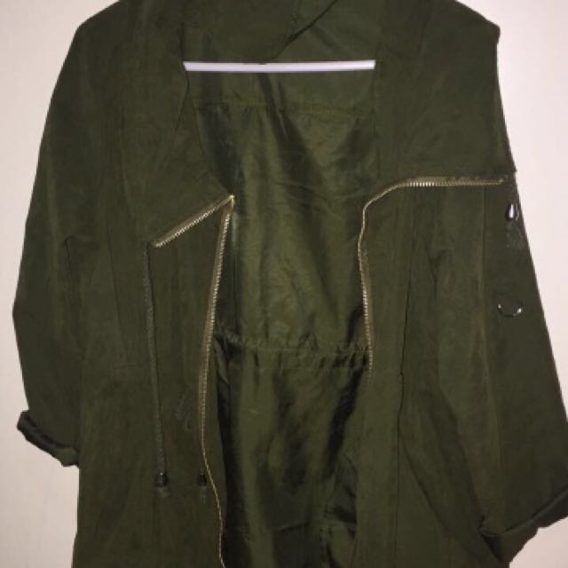 Army Green Parker