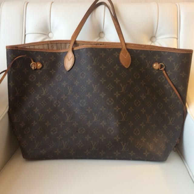 80e2f0755949 Authentic Louis Vuitton Neverfull GM Monogram Canvas