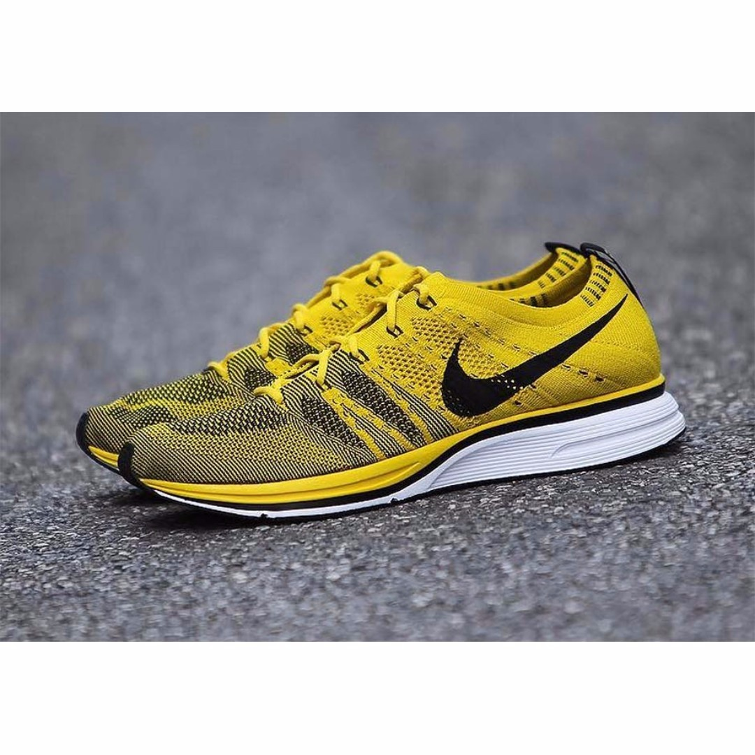 e6c5900290025 Authentic NIKE FLYKNIT TRAINER Bright Citron