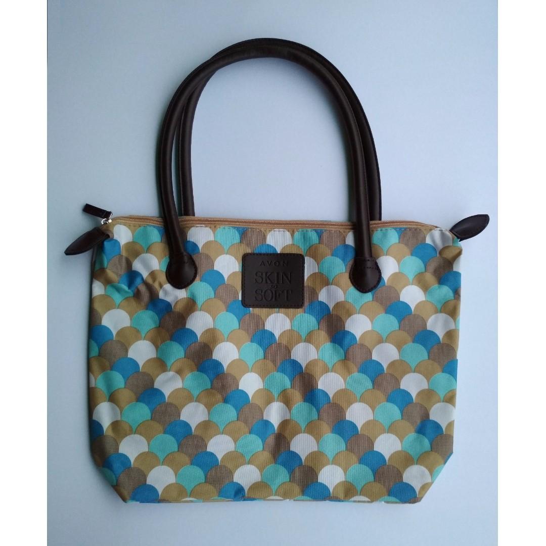 AVON Skin So Soft Printed Tote Bag