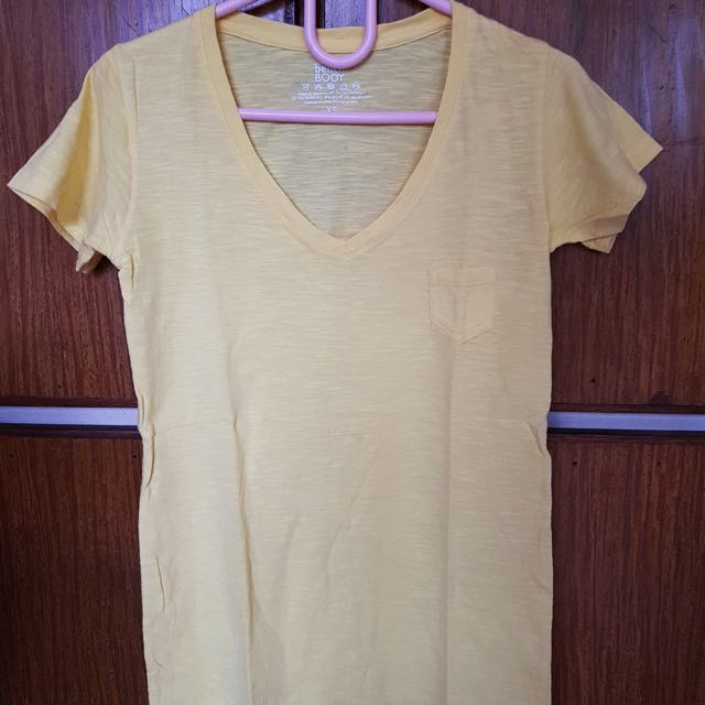 Bench Yellow Shirt