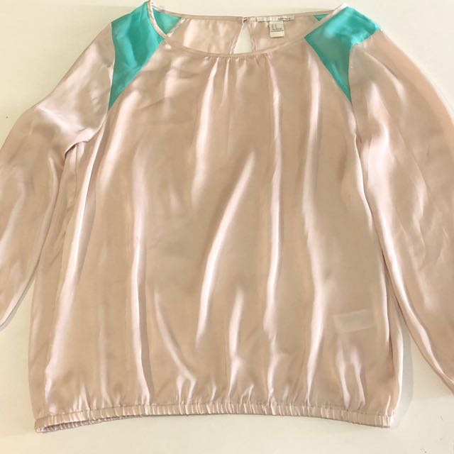Bershka silk top
