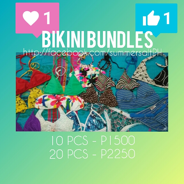 BIKINI BUNDLES STARTING AT P1,500