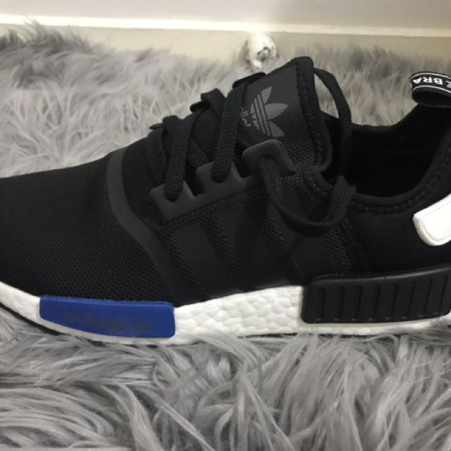 Black NMDs brand new