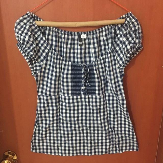 Blue top/blouse