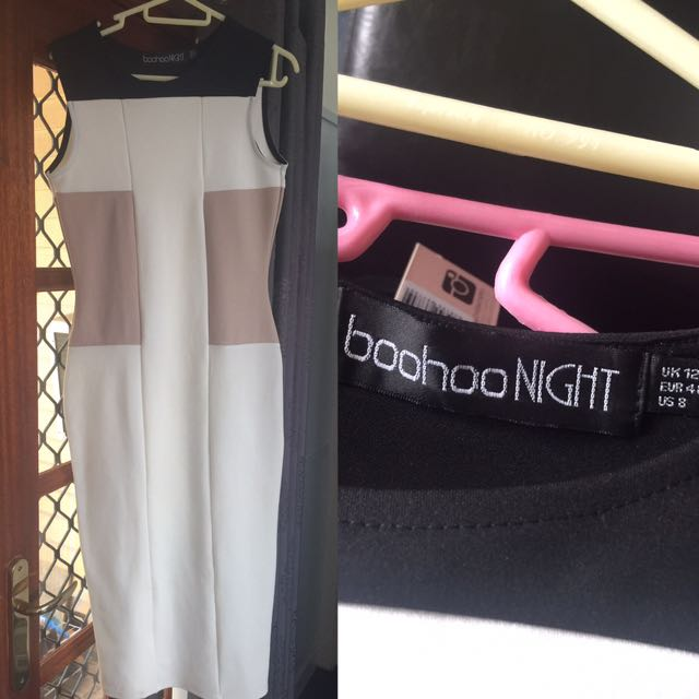 Boohoo night smart dress