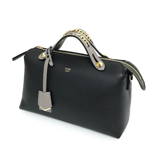 a477d11f19 Brand New Fendi BTW Small in Black Tricolor with Chain Handle complete set   23jt