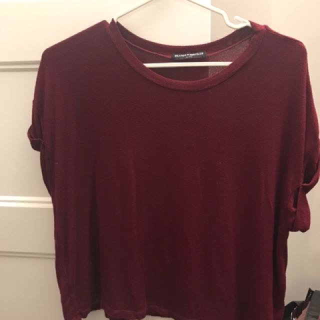 Brandy Melville Red Top