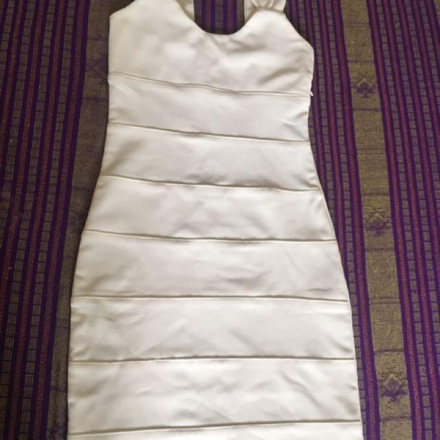Broken white dress