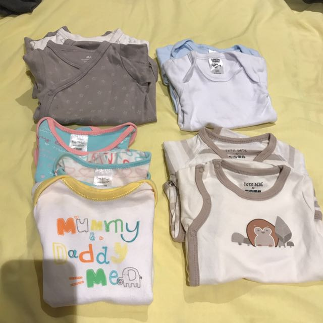 Bulk sale 4 sets 0-3month baby clothes for $25
