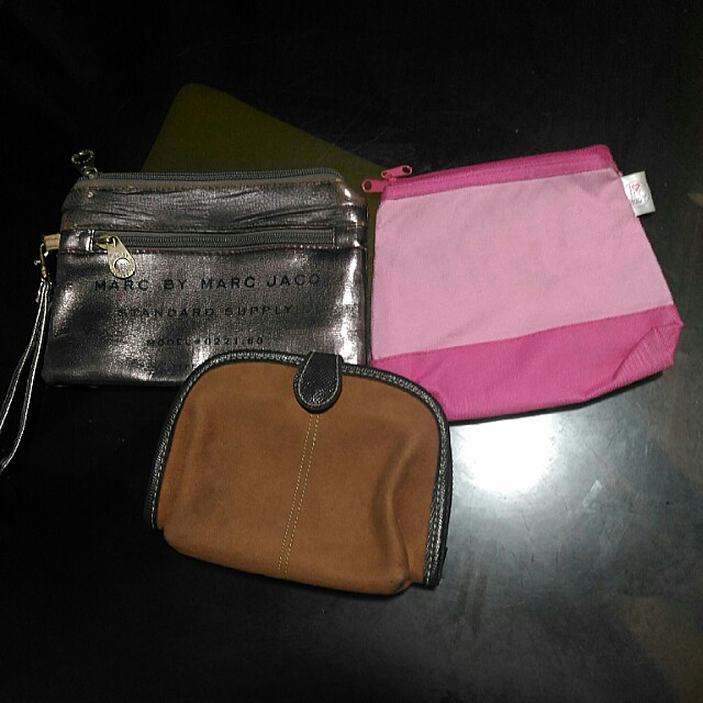 Bundle Price! Make up pouch (Pink and Shiseido)