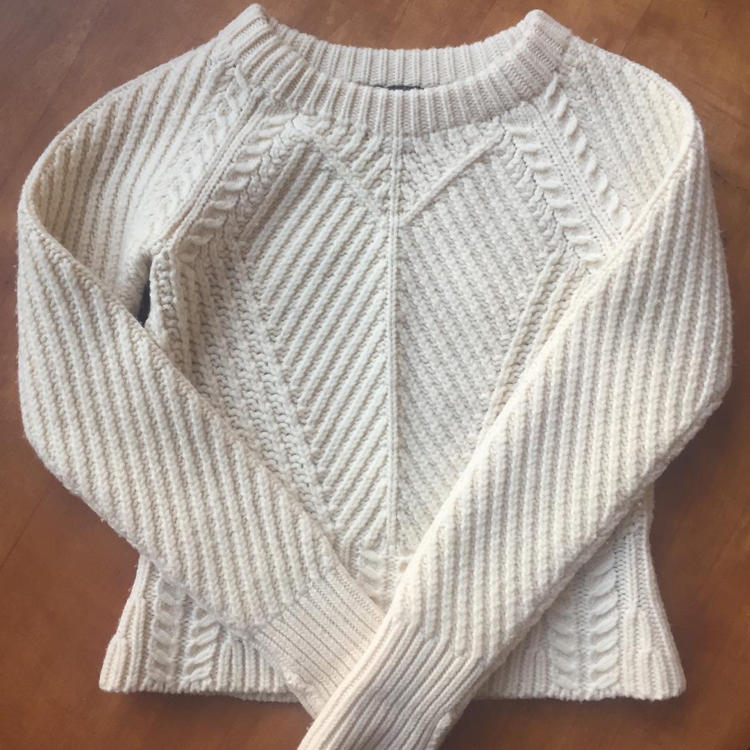 Burberry Cream Sweater XS