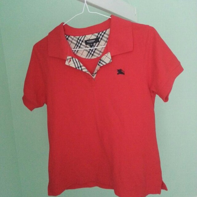 Burberry top kids size Extra Large