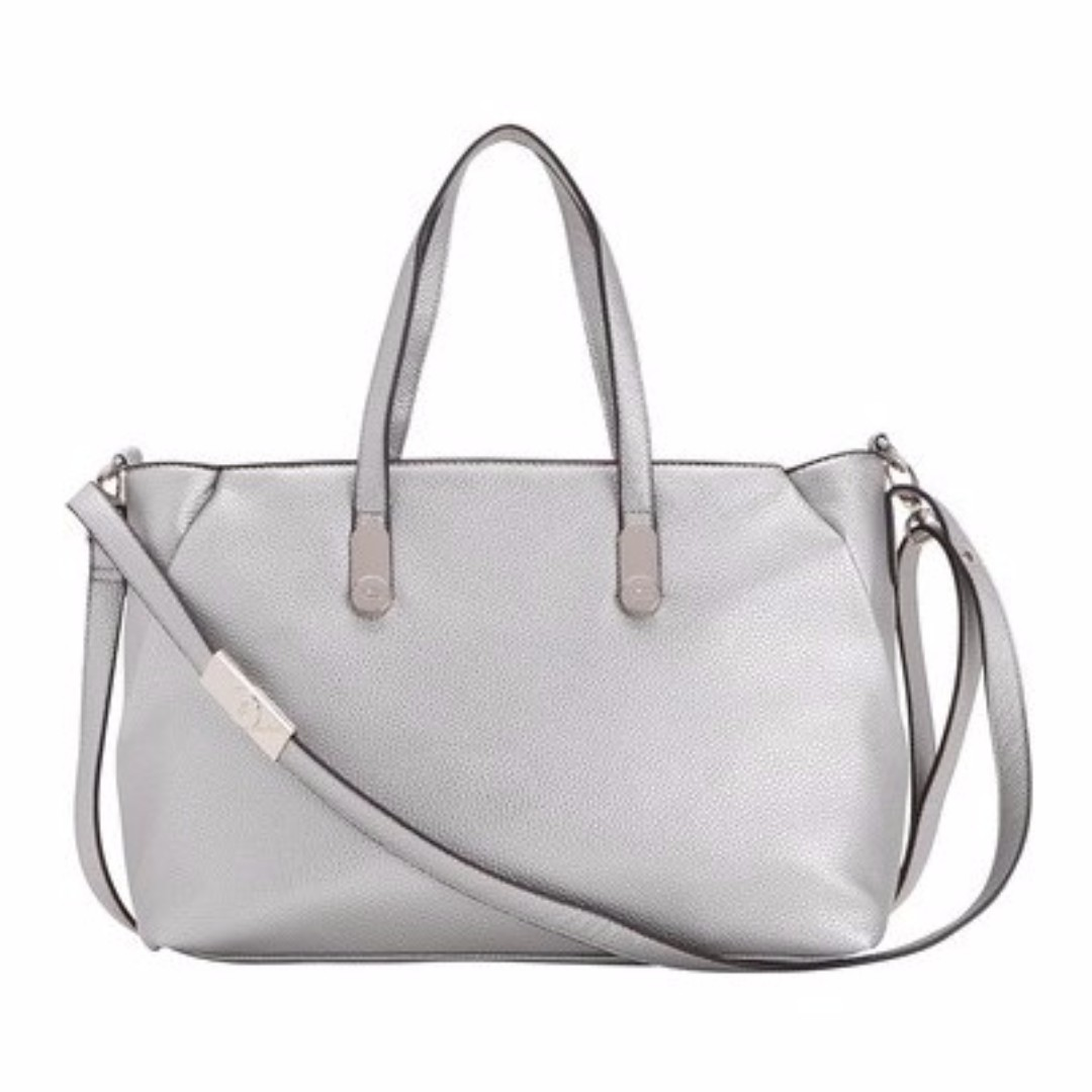 Carpisa Silver Argento Collection Tote Sling Bag @39.99Euro