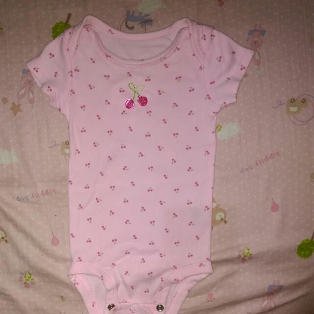 Carter's Pink Onesie