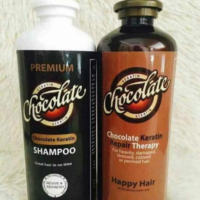 Chocolate Keratin Shampoo/ Repair Theraphy