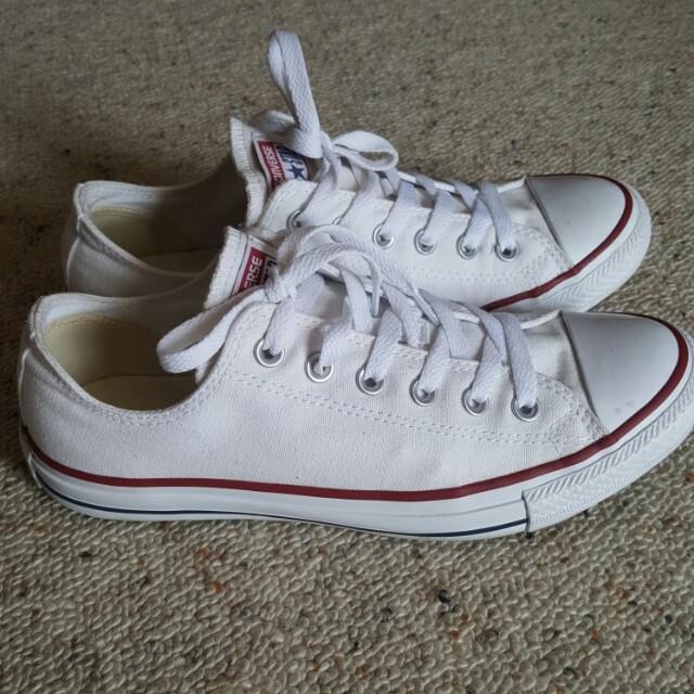 Converse shoes - white