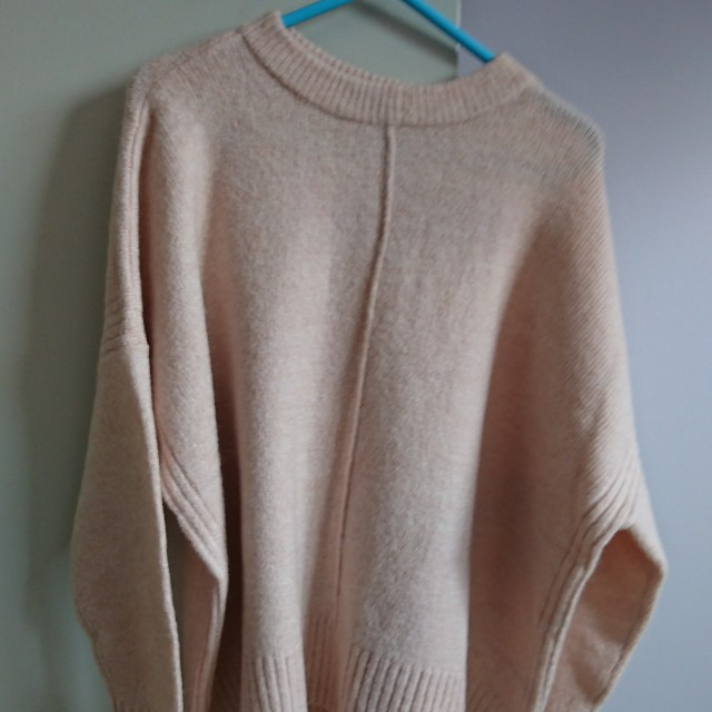 Cotton On baby pink oversized knit