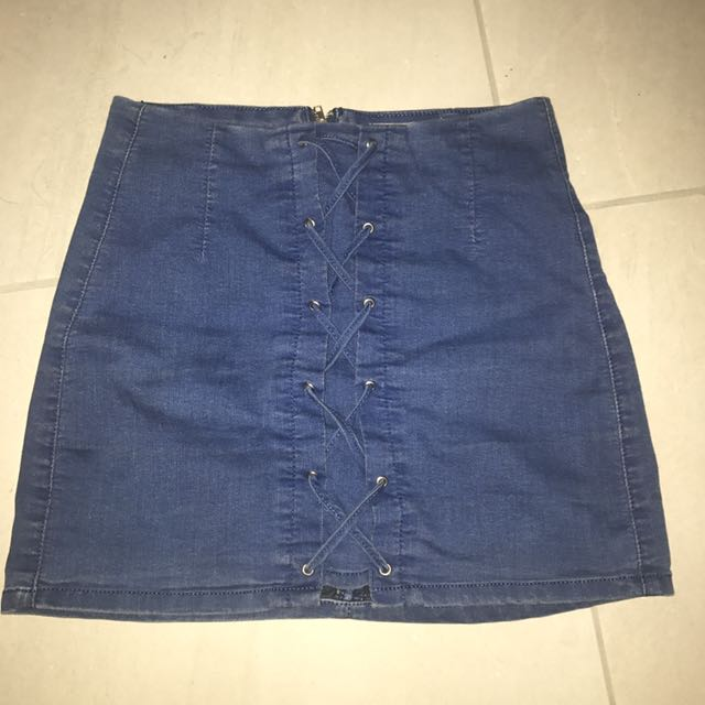 Denim skirt s10