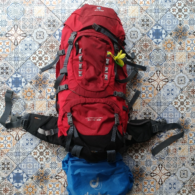 details for affordable price lower price with Deuter AirContact Pro 55+15sl, Sports, Other Sports ...