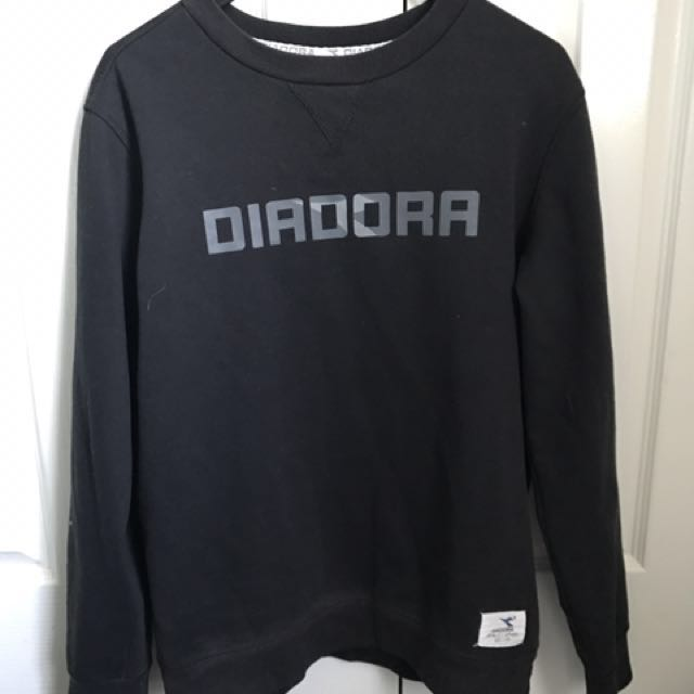 Diadora Black Jumper
