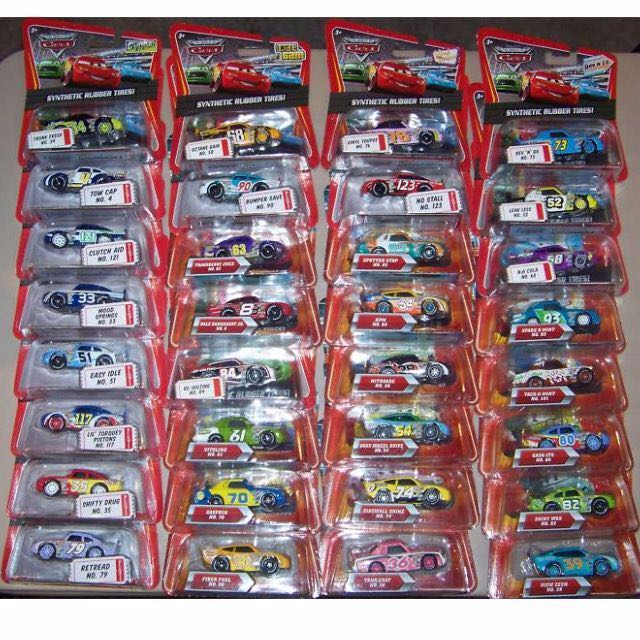 Disney Pixar Cars Piston Cup Racers KMART Lightning Mcqueen