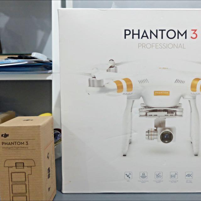 DJI Phantom Pro 3 + 1 Battery (ori)
