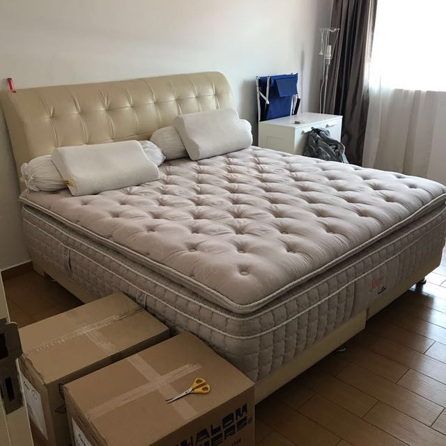 Dunlop Mattress With Bed Frame
