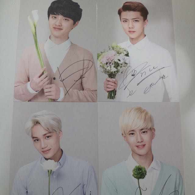 EXO NATURE REPUBLIC POST CARD