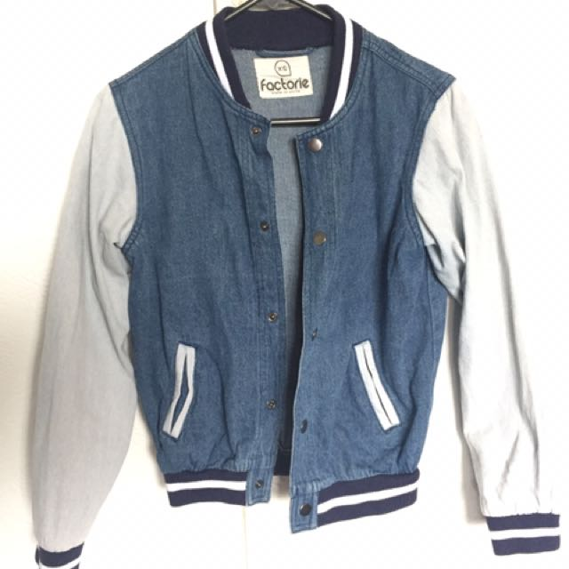 Factorie Varsity Jacket