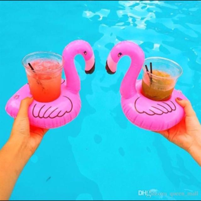 Flamingo Drink 🍹 Floater Set of 2