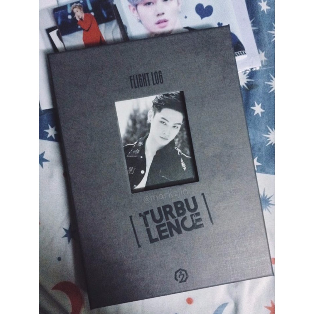 Flight Log: Turbulence (JB ver. photobook)
