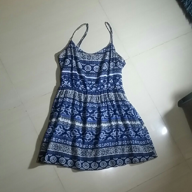 Forever21 Dress With Adjustable Strap Small