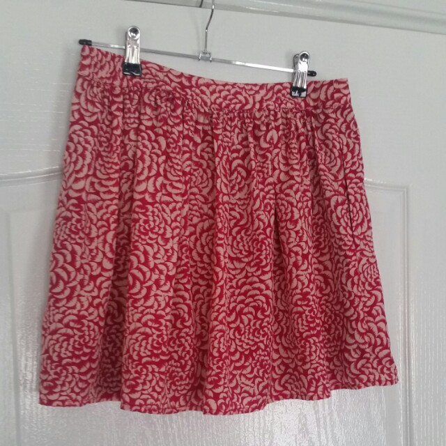 Forever New 10 Skirt Rose Petal Pale Pink PERFECT USED CONDITION! Gathered waist