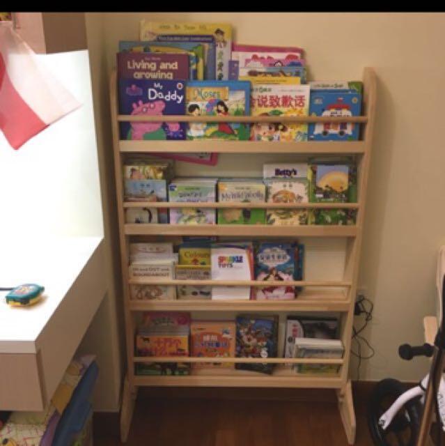 Front Facing Wooden Bookshelf @ $50, Home & Furniture, Furniture ...