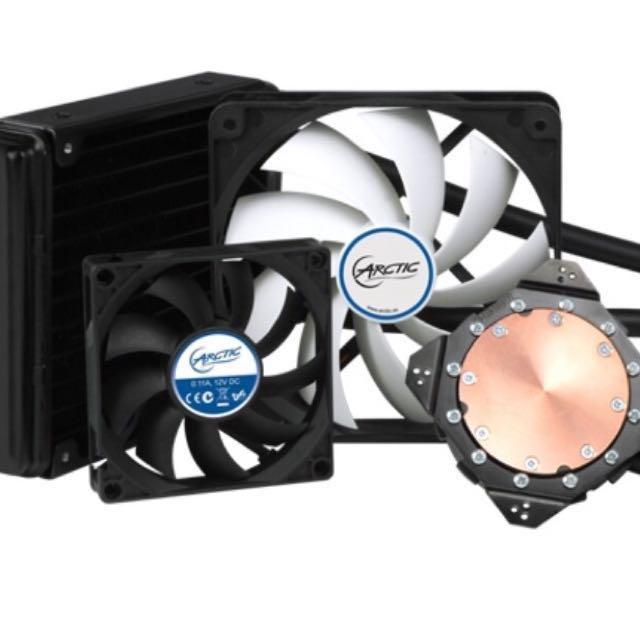 graphics card cooler: arctic accelero hybrid iii-120 (generic)