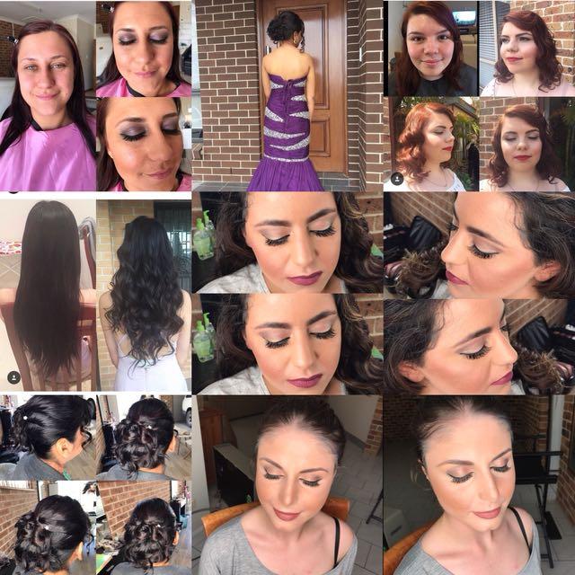 Hair & makeup by me