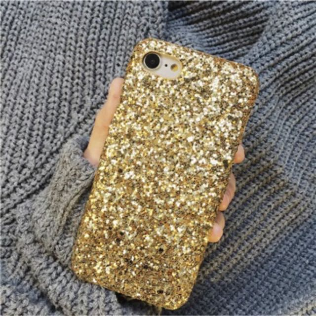 Hard cases blink iphone 7+ gold