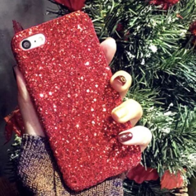 Hard cases blink iphone 7+ red