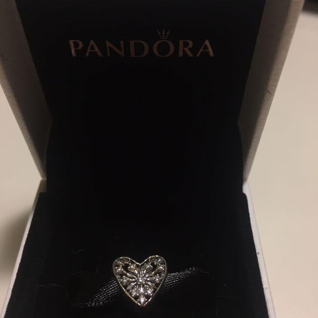 Heart Pandora charm