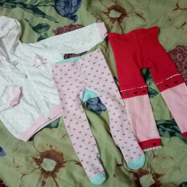 Hello Kitty Hoodie And Busha Pants New