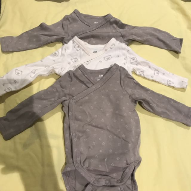 H&M organic cotton 1-2month baby clothes