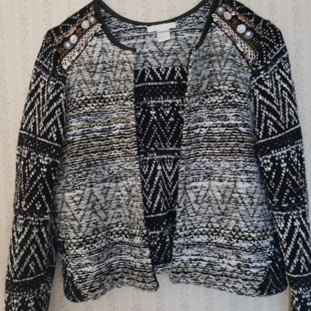 H&M size small cardigan jacket