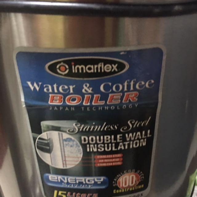 Imarflex Water/Coffee broiler