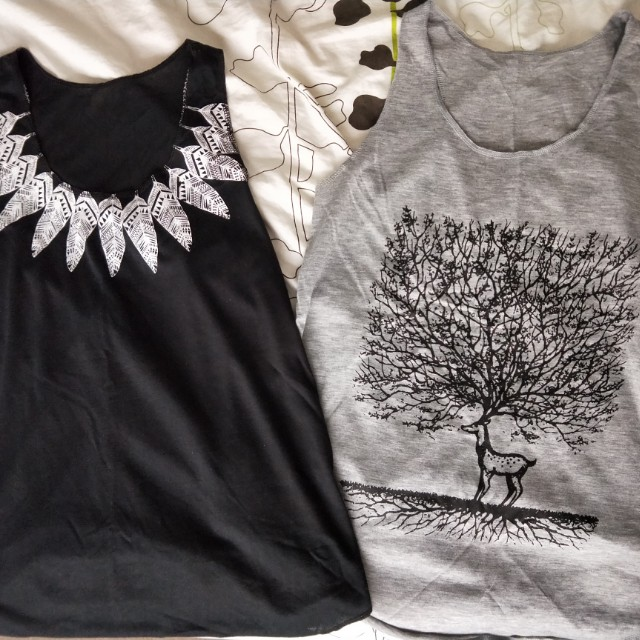 Indie tops (price for both) size 6-10