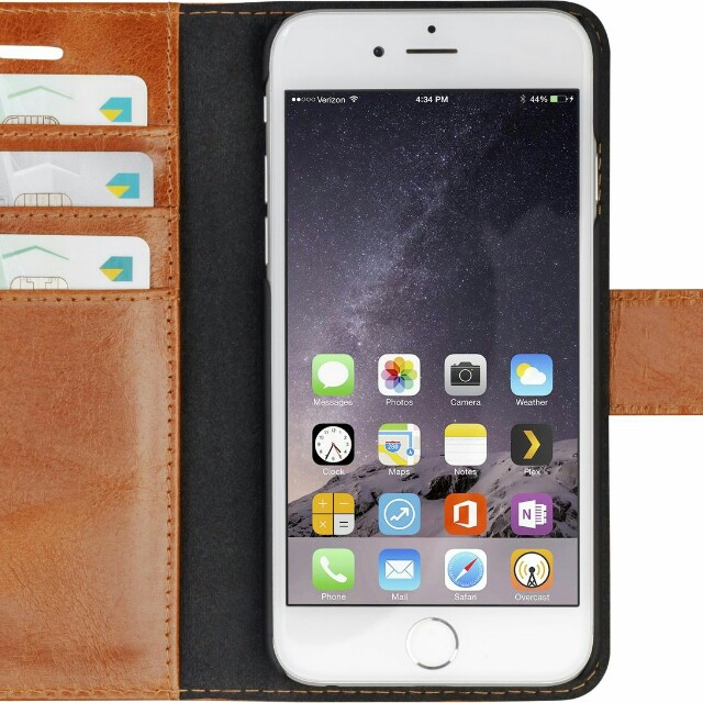 Iphone 6 6s leather case genuine