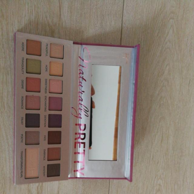 IT Cosmetic Naturally Pretty Matte Vol II Eyeshadow Palette